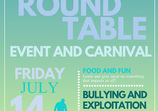 Round Table Event And Carnival